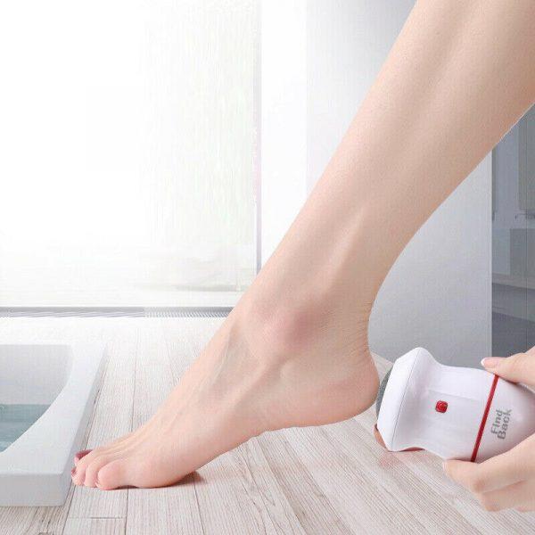 Electric Vacuum Adsorpt Foot Grinder Dead Skin Callus Remover Hard Cracked Skin Files Pedicure Feet Care Files Clean Tools