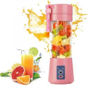 Portable Glass Blender USB Mixer Electric Orange Juicer Machine Smoothie Blender Mini Food Lemon Squeezer Juice Press Extractor
