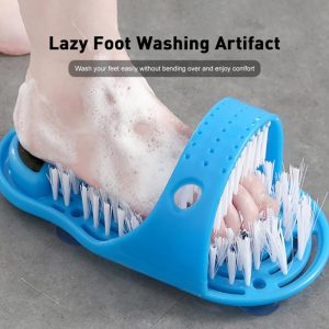 1pc Shower Feet Foot Scrubber Massager Cleaner Spa Exfoliating Washer Brush Remove Dead Skin Massager Slipper Foot Care Tools